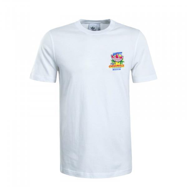 Herren T-Shirt Bodega Popsicle White
