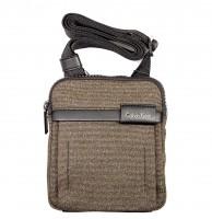 CK Bag Neil Mini Flat Cross Olive Black