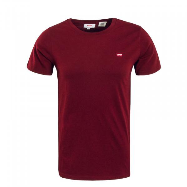 Herren T-Shirt Original HM Bordeaux