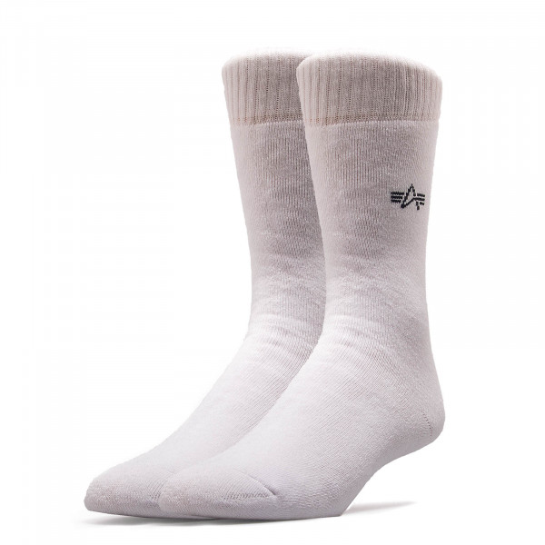 Alpha Socks White Black