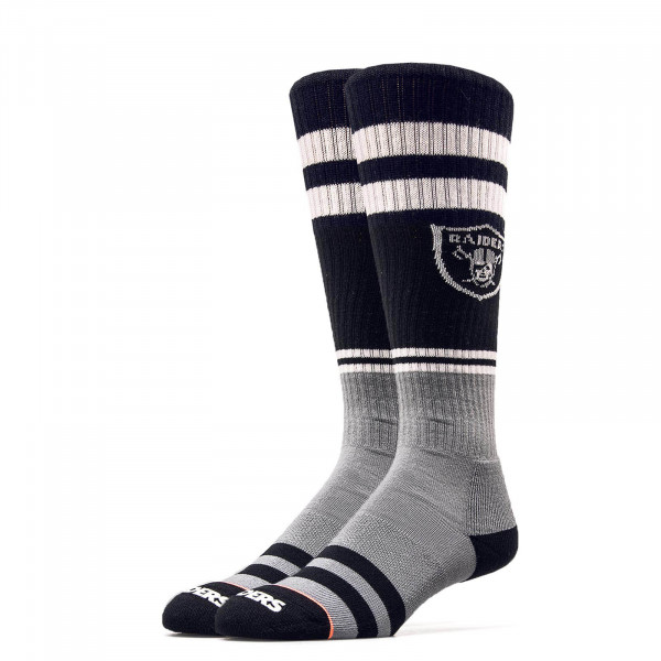 Stance Wmn Socks NFL Oakland BlackGrey