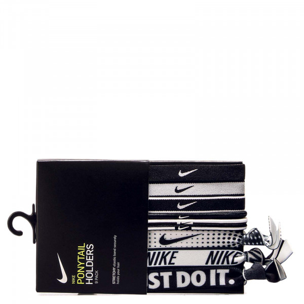 Nike ACC Ponytail 9P Holders Black White