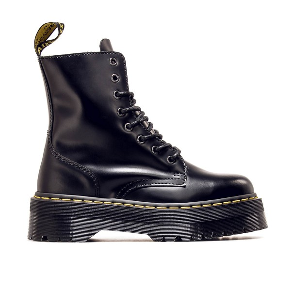 Dr Martens Wmn Jadon 8 Eye Smooth  Black