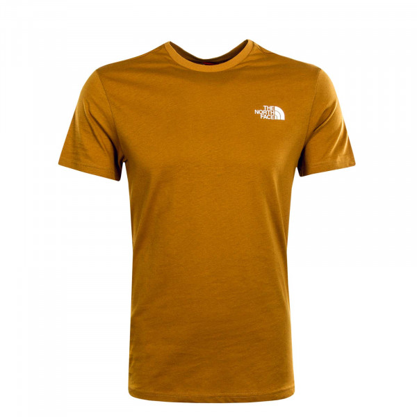 Herren T-Shirt Simple Dome Timber Tan