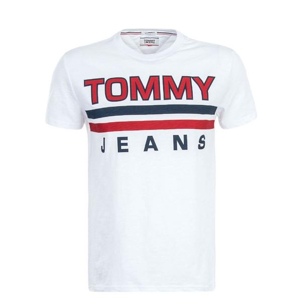 Tommy TS TJM Stripe White