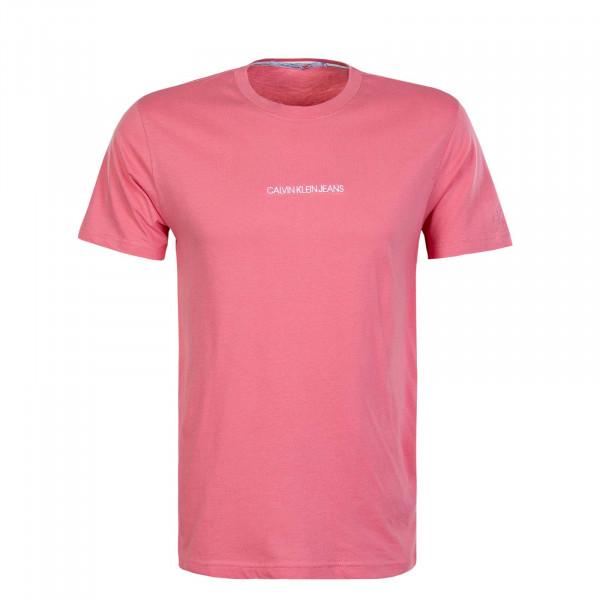 Herren T-Shirt 5186  Instit Chest Logo Apricot