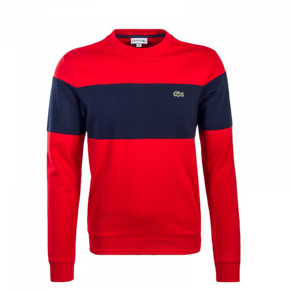 Lacoste Sweat SH9248 Red Navy