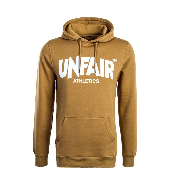 Unfair Hoody Classic Label Brown