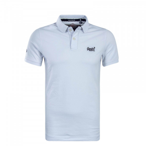 Poloshirt Classic Pique White
