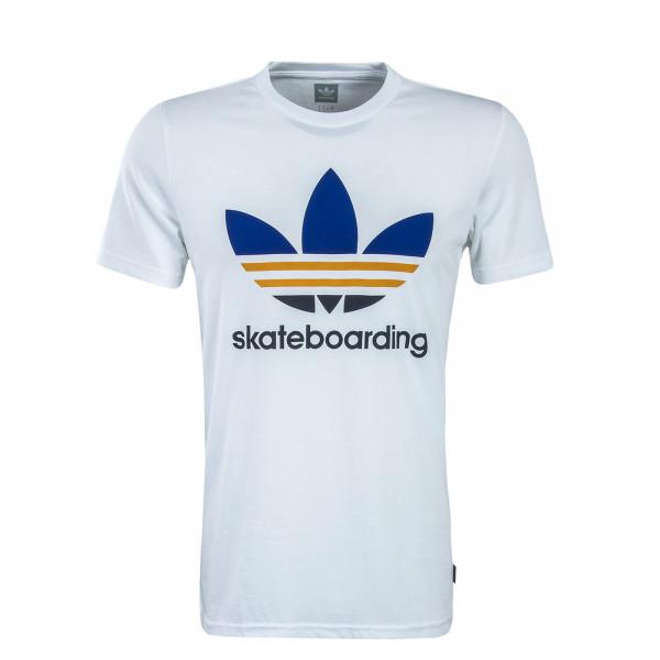 Herren T-Shirt Skate Clima 3.0 White Royal