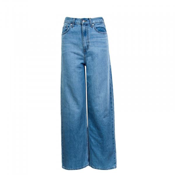 Damen Hose - High Loose Full Circle - blue