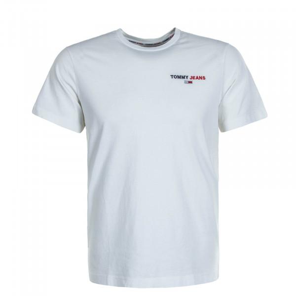 Herren T-Shirt Chest Corp 9401 White
