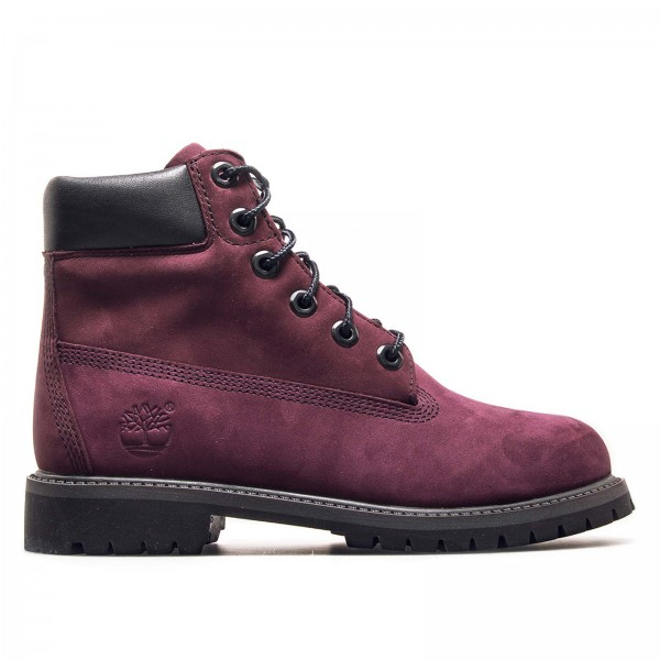 Timberland Wmn 6 in Boot 1O82 Bordo