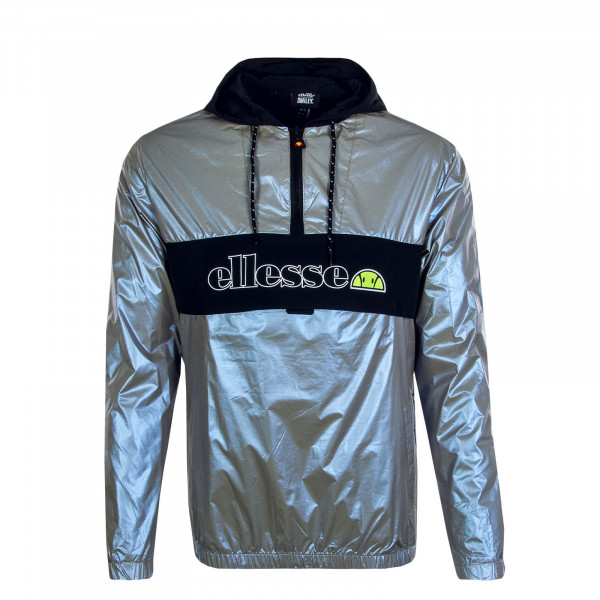 Herrenjacke Smiley Breaker Adige Silver Black