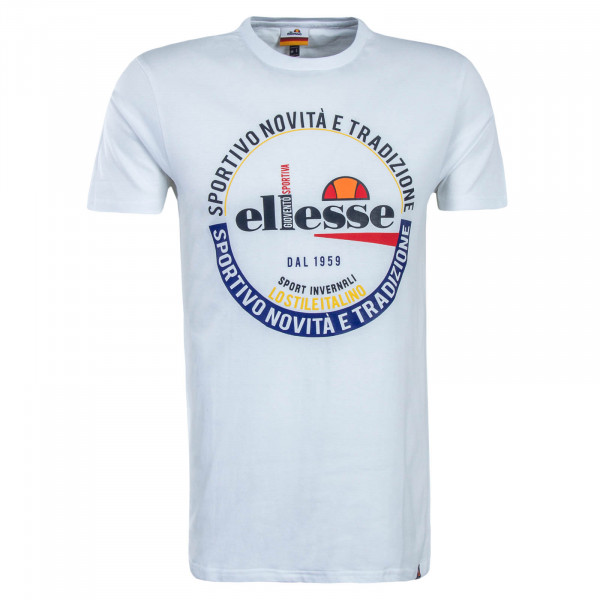 Herren T-Shirt Rombio White