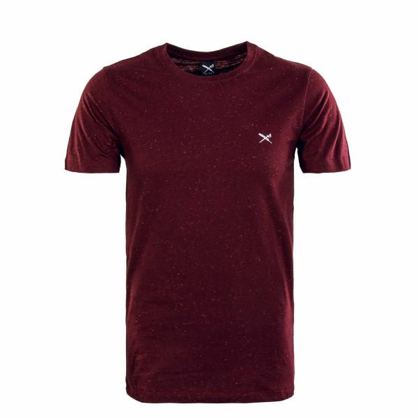 Herren T-Shirt - Retain - Maroon / Melange