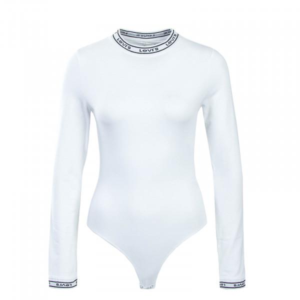 Levis Wmn LS Bodysuit White