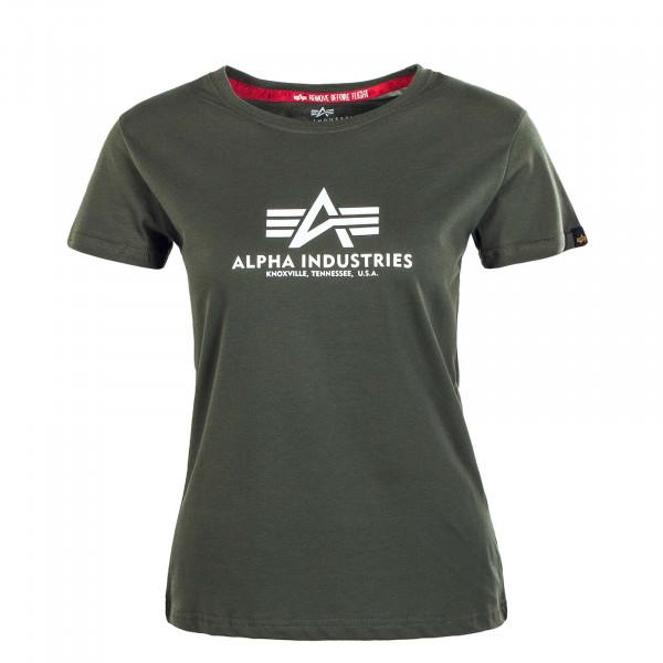 Damen T-Shirt - New Basic - Dark Olive