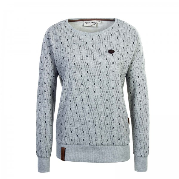 Naketano Wmn Sweat Jane Forensik Grey