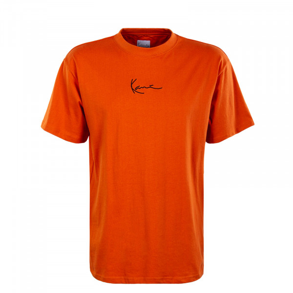 Herren T-Shirt - Small Signature - Dark Orange