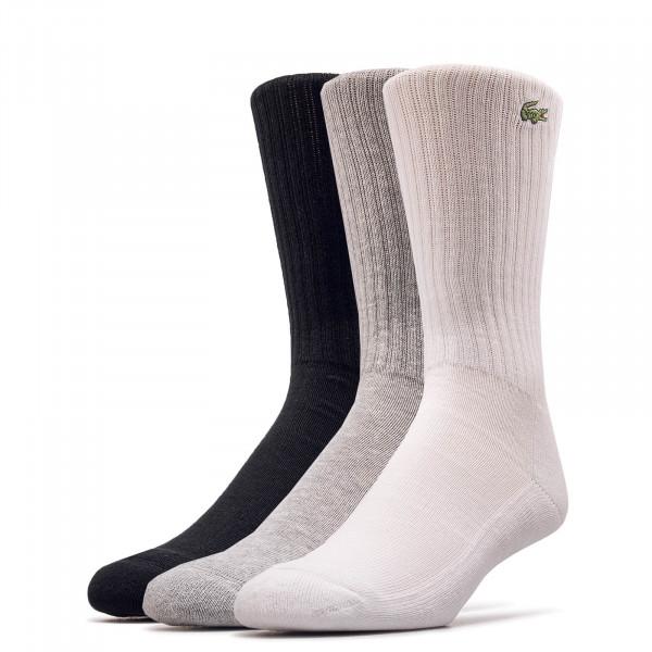3er-Pack Socken 7621 P0F Grey Black White