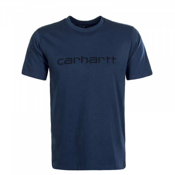 Herren T-Shirt Script Admiral Black