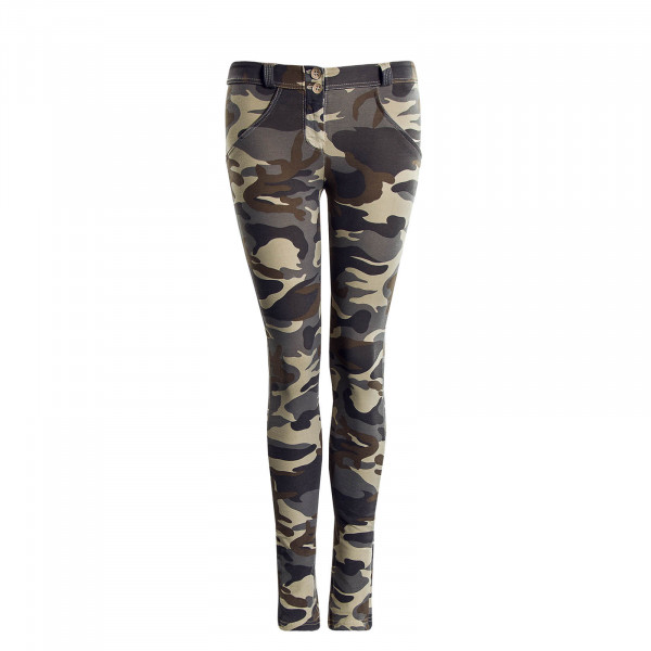 Damen Hose WR.UP® RC007 Z48M Camouflage - Regular Waist Skinny