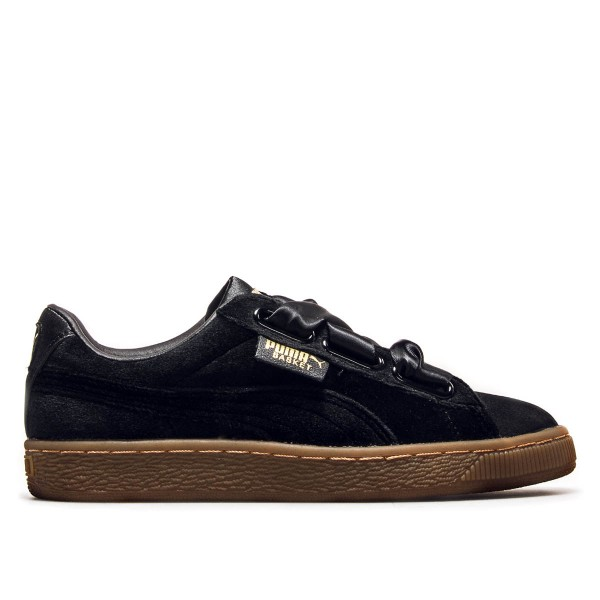 Puma Wmn Basket VS Black Gold