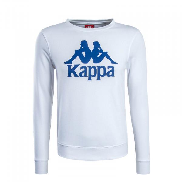 Herren Sweatshirt Zemin White Blue