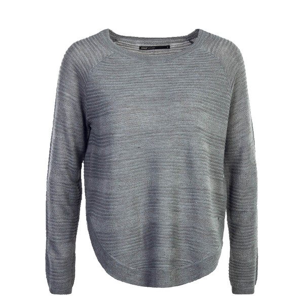 Only Knit Caviar Medium Grey