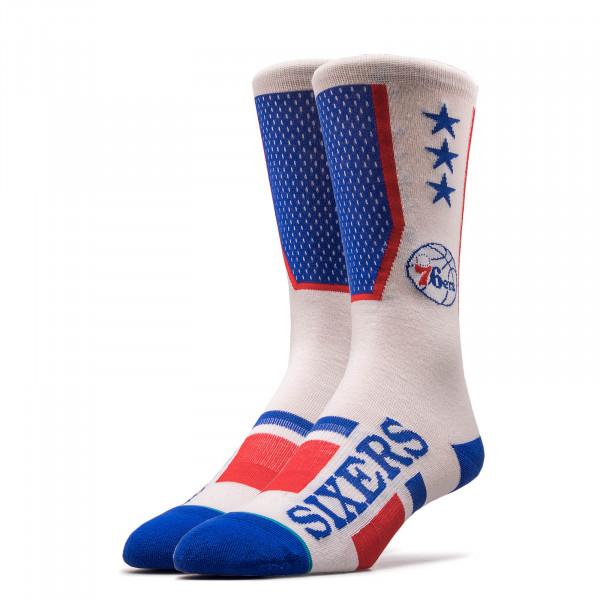 Herren Socken NBA 76ERS Royal White Red