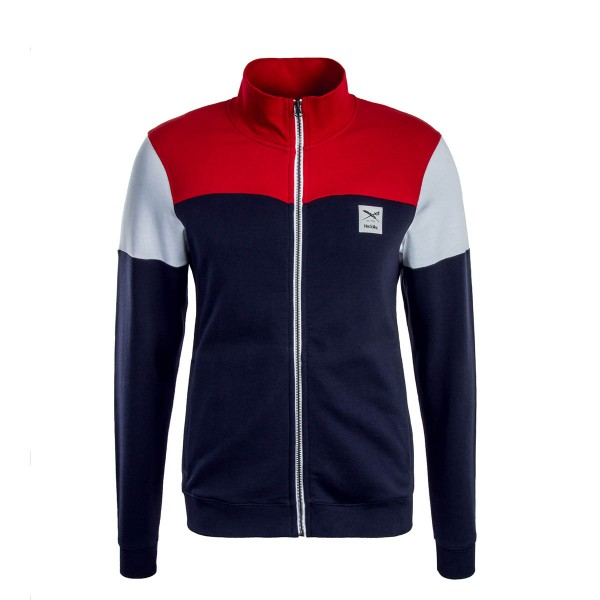 Iriedaily Sweatjkt Blow Up Red Navy