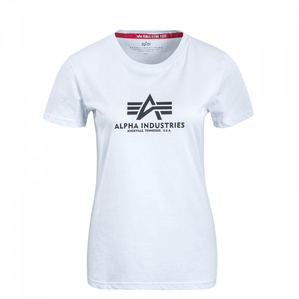 Damen T-Shirt New Basic White Black
