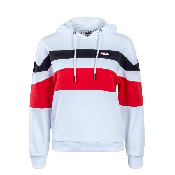 Fila Wmn Hoody Adina White Red