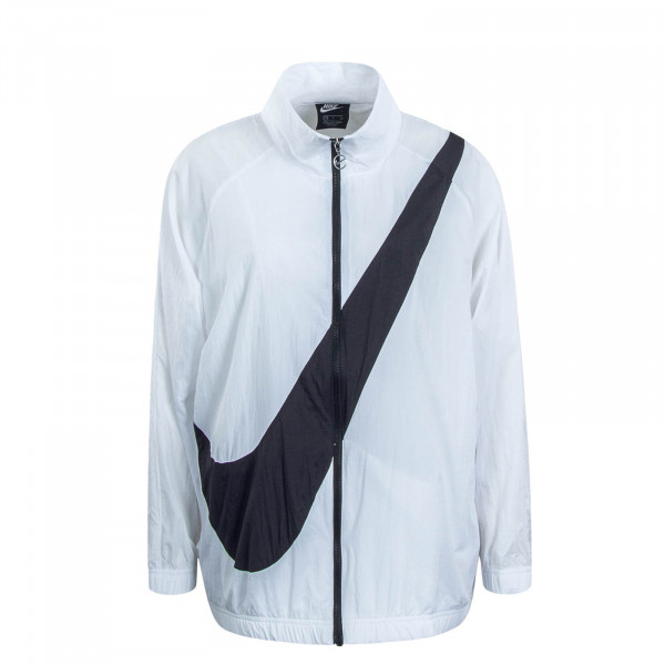 Damen Jacke Swoosh NSW White Black