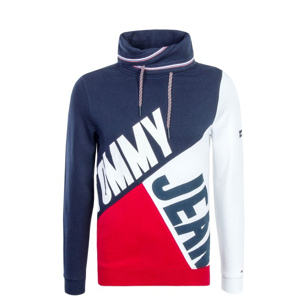 Tommy Sweat TJM Colorblock Navy WhiteRed