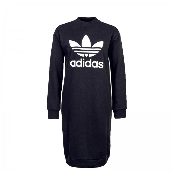 Adidas Wmn Dress TRF Crew Black White