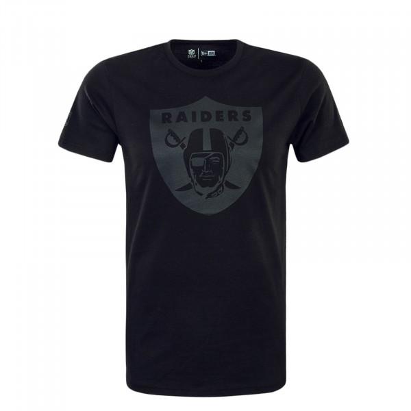 Herren T-Shirt NFL Tonal Oakrai Black