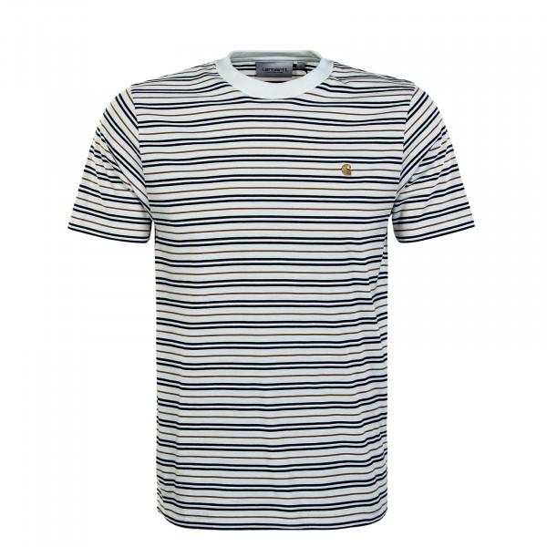 Herren T-Shirt - Akron Stripe Wax