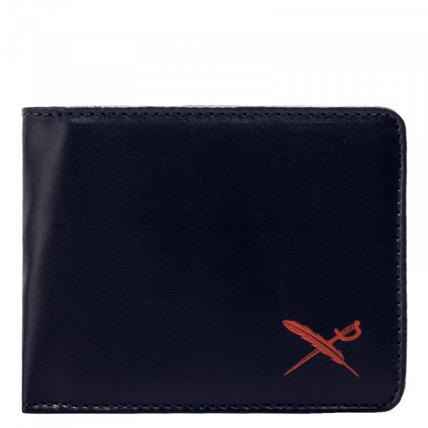 Iriedaily Wallet Mixed Flag Navy Red