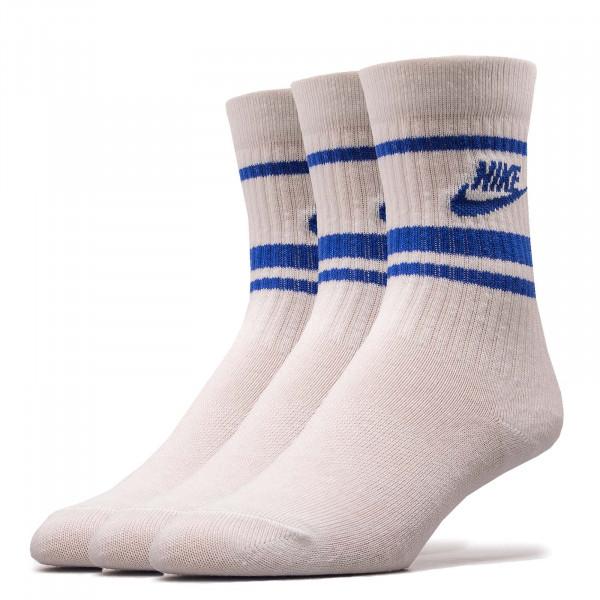 3er-Pack Socken Essential Stripe White Blue