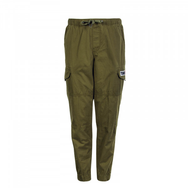 Herrenhose Tapered Cuffed Olive