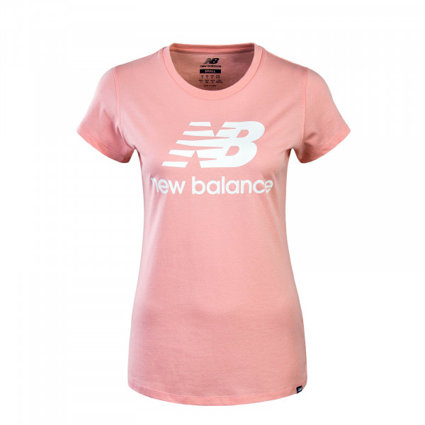 Damen T-Shirt  WT81536 Pink White