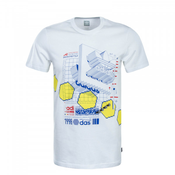 Adidas SK TS Vetter White Blue Yellow