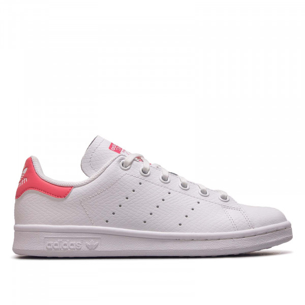 Damen Sneaker Stan Smith J White Pink