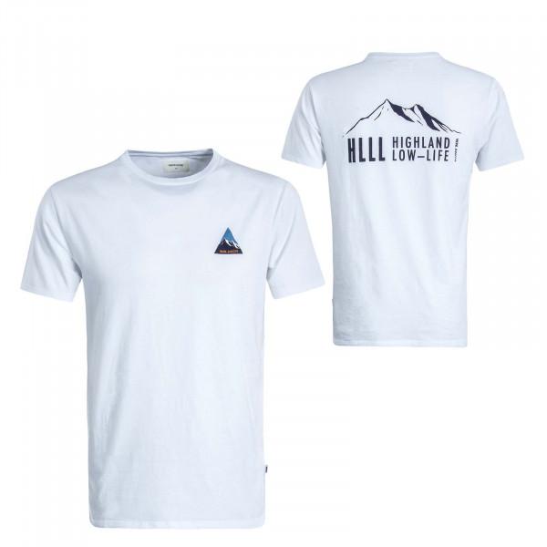 Herren T-Shirt Hill White