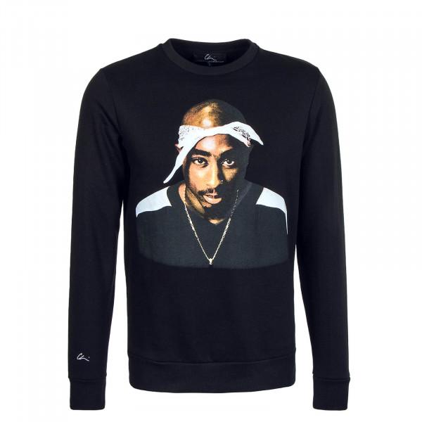 Herren Sweatshirt CHI MODU Crew Pac Bandana Black