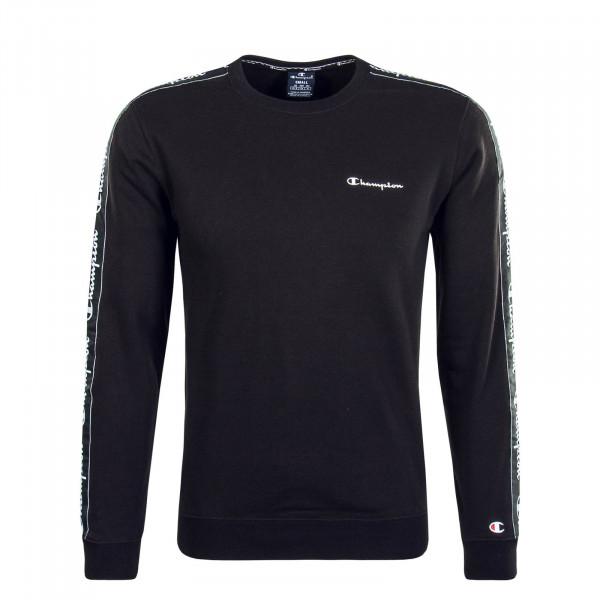 Herren Sweatshirt 213646 Black White