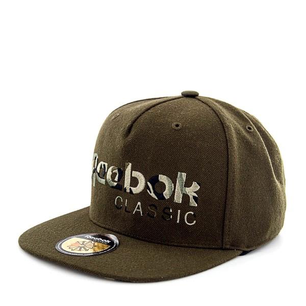 Reebok Cap CL Camo Olive