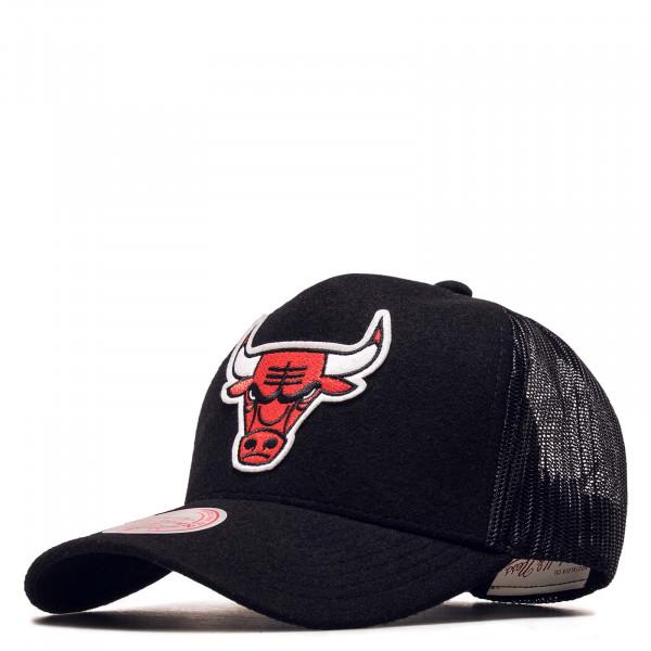 Trucker Cap - Winter Chicago Bulls - Black
